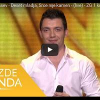Костадин Петрушев со импресивен настап, пееше лежејќи