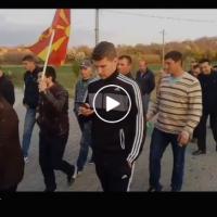 """(ВИДЕО) Протест на неделата: """"Реки народ"""" во поддршка на """"За Заедничка Македонија"""""""