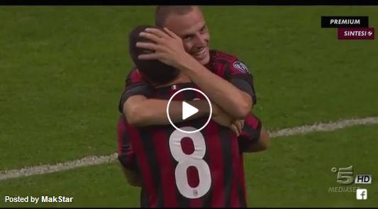 Милан 6-0 Шкендија, 17.08.2017 | Highlights
