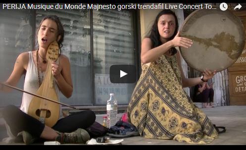 """Македонската група """"Перија"""" ја воодушеви публиката во Тулон (Франција)"""