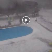 Видео од вчерашното невреме (12.08.2017) во Горни Милановац, Србија