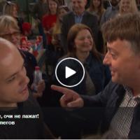 Случајна средба помеѓу лутите ривали на пазар во Бутел | Петре Шилегов (СДСМ) vs Дарко Костовски (кандидат за Бутел од ВМРО - ДПМНЕ)