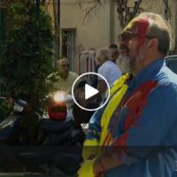 Палевски го полеа Героски со боја: шарената револуција продолжува