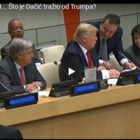 """Дачиќ """"трчка"""" по автограм од Трамп сред состанок во ОН"""