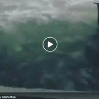 Страшно видео од ураганот Марија | И Карипското Море се излеа во Порторико
