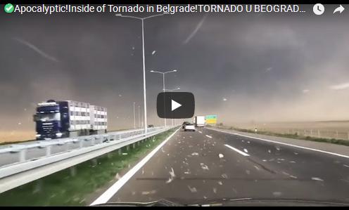 Апокалиптично невреме во Србија (Војводина) – Денот се претвори во ноќ | 17.09.2017