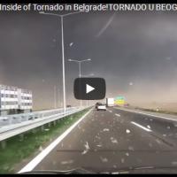 Апокалиптично невреме во Србија (Војводина) - Денот се претвори во ноќ | 17.09.2017