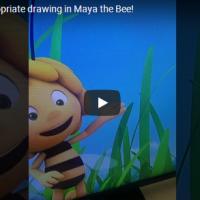 "Повлечена епизода на ""Пчеличката Маја"" поради цртеж на пенис"