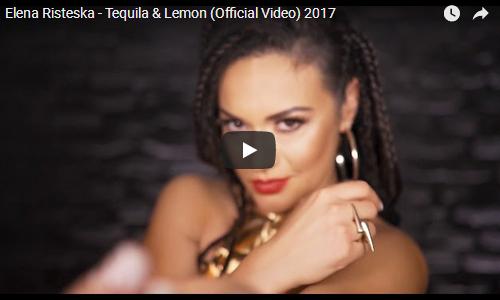 """Елена Ристеска го промовираше најновото видео за песната """"Tequila & Lemon"""""""