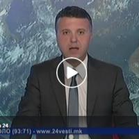 Вонредни вести на Телевизија 24 | Уапсени Горан Грујевски и Никола Бошковски
