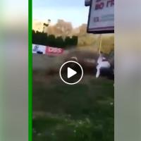 """Сообраќајка на кружната трка """"Скопје круг 2017"""""""
