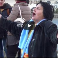 Песната што ги ''расплака'' демонстрантите пред кривичен суд