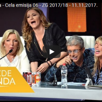 Zvezde Granda – Цела емисија 06 – ZG 2017/18 – 11.11.2017
