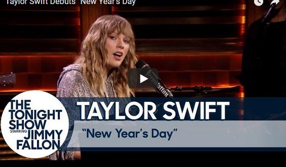 """Тејлор Свифт ја претстави """"New Year's Day"""""""