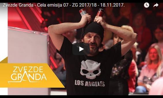 Zvezde Granda – Цела емисија 07 – ZG 2017/18 – 18.11.2017