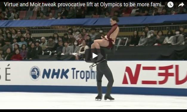 """СО ОРАЛЕН СЕКС ДО ЗЛАТО НА ОЛИМПИСКИТЕ ИГРИ: Погледнете го """"златниот"""" танц на Канаѓаните во Пјонгчанг"""
