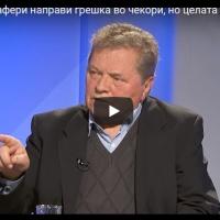 Владо Поповски: Џафери направи грешка во чекори, но сега целата одговорност е кај Иванов кој го крши Уставот
