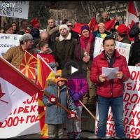 Протест на Македонците од Калгари: Преговорите за името го рушат дигнитетот на македонската нација