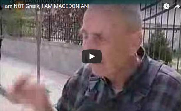НЕ СУМ ГРК БЕ, МАКЕДОНЕЦ СУМ: Во среде Грција, на грчка телевизија