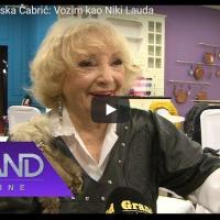 """Супер бабичка од Македонија (90 год. Дојран) - """"возам како Ники Лауда"""""""