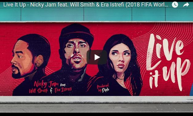 Вил Смит, Ники Џам и Ера Истрефи ја пеат новата химна за СП во фудбал