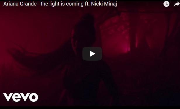 """Аријана Гранде и Ники Минаж ги здружија силите за """"The Light Is Coming"""""""