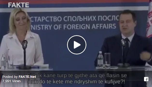 """Дачиќ ја нападна Македонија: """"И Македонија е меѓу лицемерите за промената на границите"""""""
