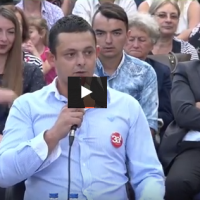 И Наумче Мојсовски дел од трибина во Струга: Излези ЗА европска Македонија
