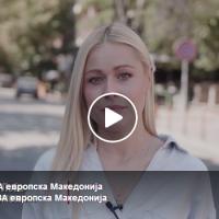 """Викторија Лоба - """"Ова е најголемата шанса за Македонија да стане силна и сериозна држава"""""""