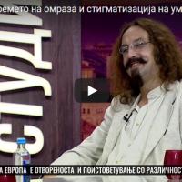 Гиш запеа и на албански кај Чом во Студио 1