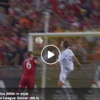 Ибрахимовиќ го постигна 500-тиот гол во кариерата во негов стил