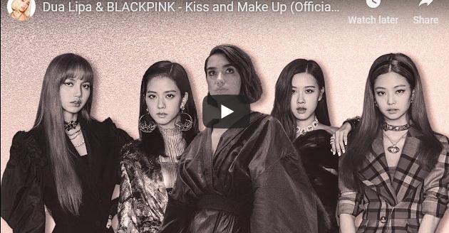 """Дуа Липа има уште еден потенцијален хит со корејската сензација """"Блекпинк"""""""