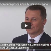 Јанчев и Богданов разрешени, Мијалков и Тодоров исклучени, Груевски останува недопирлив