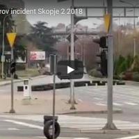 Автомобил се преврте на денешните трки кај Скопски Саем