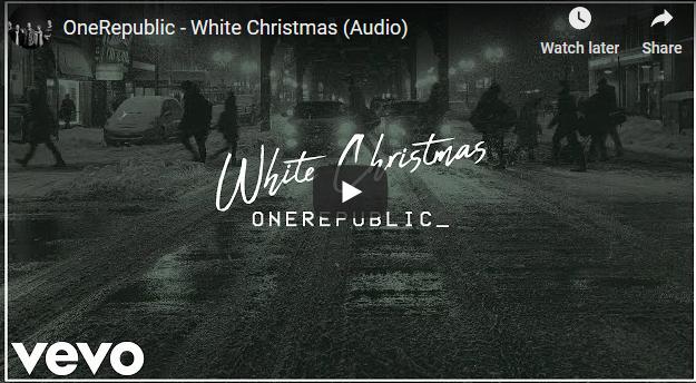 """One Republic сними своја верзија на евергринот """"White Christmas"""""""