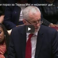 """Историски пораз за Тереза Меј и нејзиниот договор со ЕУ - 432 гласа """"против"""", само 202 гласа """"За"""""""