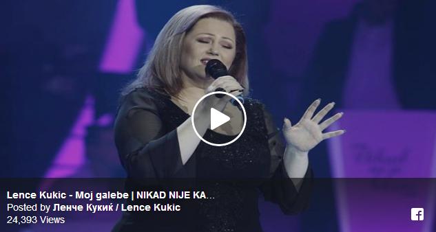 """Ленче Кукиќ од Струмица со сите емоции – """"Галебе мој тажен"""" полн погодок во """"Nikad Nije Kasno"""""""