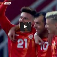 Деби гол на Елмас - му го посвети на Пандев и стана втор најмлад стрелец за Македонија!