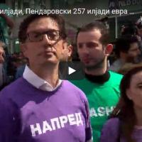 Во втората половина од кампањата Река потрошил најмногу, 290 илјади, Пендаровски 257 илјади евра