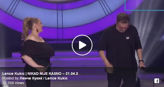 """Струмичанката Ленче Кукиќ повторно доминираше во """"Никогаш не е доцна"""": Нејзиниот настап беше дочекан со овации!"""