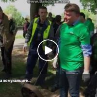 Шилегов ги искара комуналците поради неисчистена шахта