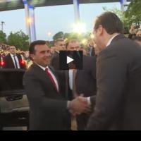 Заев во Србија на отворањето на Коридор 10