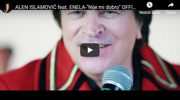 """Ален Исламовиќ во дует со """"босанската Шакира"""""""