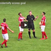 Неверојатно – Судија постигна гол на фудбалски меч во Холандија