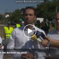 Историски ден! За првпат 200 жители од населба Балканска, Штип добија вода за пиење