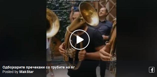 """Одбојкарите пречекани со трубите на Агушеви и """"Бисер Балкански"""""""