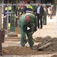 """Розовиот дрворед на """"Максим Горки"""" се возобнови"""