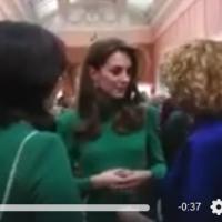 Радмила Шеќеринска во Бакингемската палата се сретна со Кејт Мидлтон