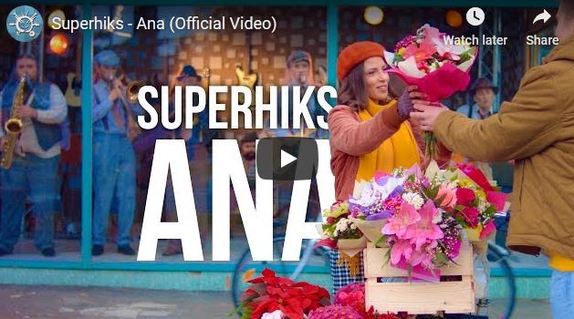 """""""Суперхикс"""" со спот ја претстави новата песна """"Ана"""""""