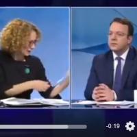 ...Радмила Шеќеринска за 20 секунди го разоткри лажниот патриотизам на ДПМНЕ...
